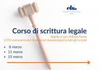 corso scrittura legale